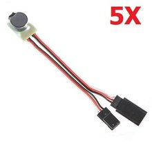 5 Pcs Signal loss Alarm & Lost Plane Finder for RC Models(China)
