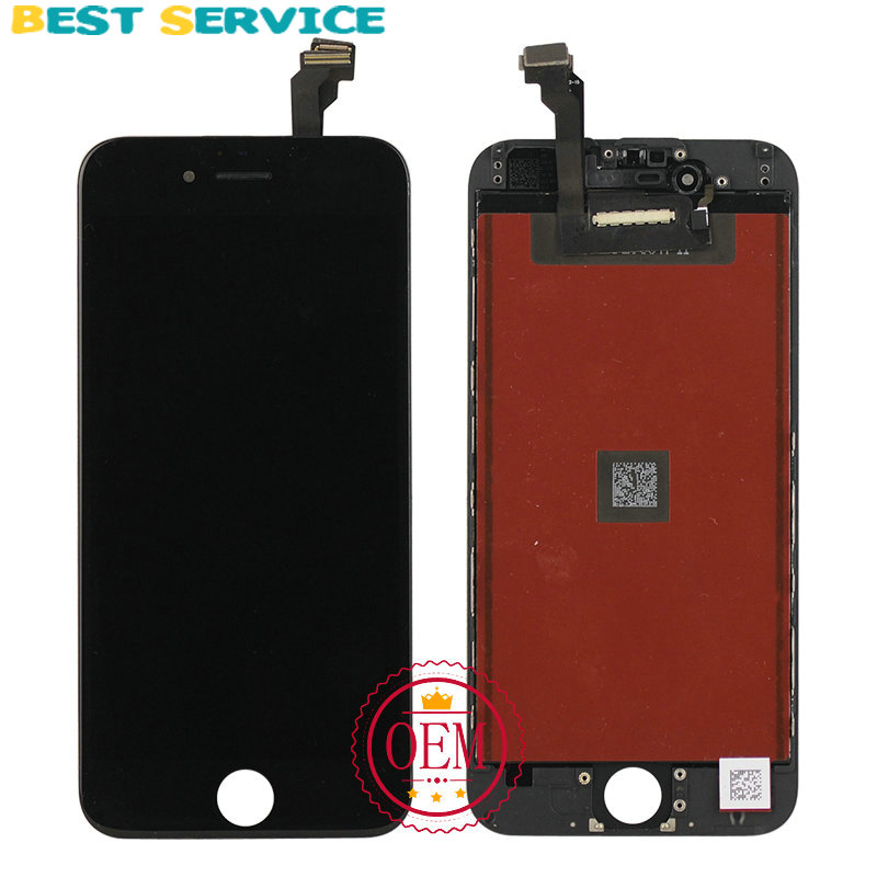 100% New For iPhone 6 LCD Display + Touch Screen Digitizer +Bezel Frame +LCD Foam + Camera Ring+ Sensor Ring+Tools Free Shipping<br><br>Aliexpress