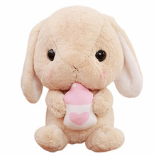 MUQGEW Rabbit Plush Stuffed Animal 23cm/9 Inches Limited Edition accompany toys Action & Toy Figures more than 6 Month(China)