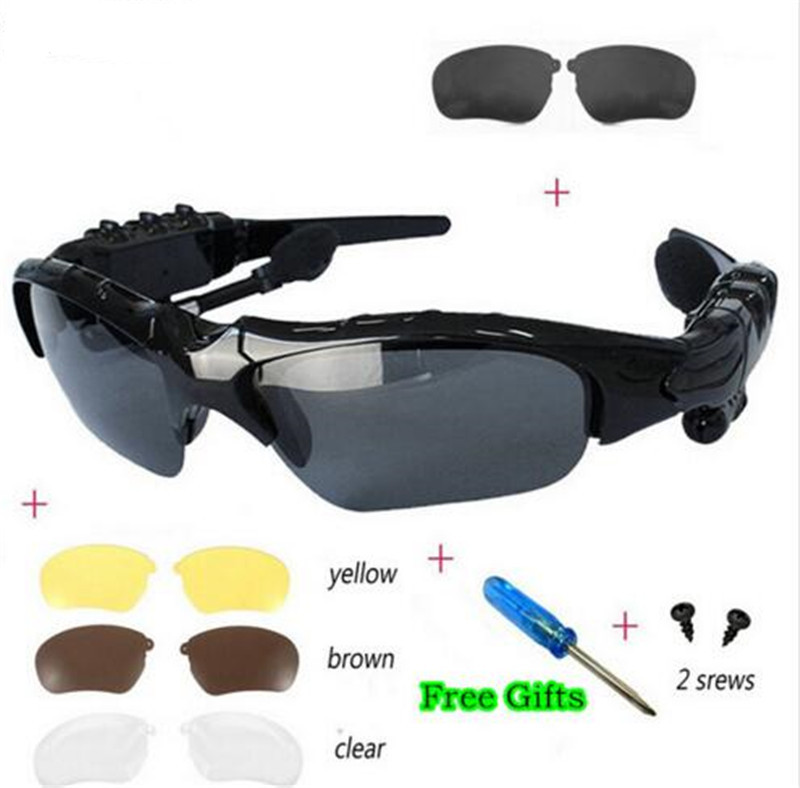 Newest Fashion Sports Stereo Wireless Bluetooth 4.0 Headset Telephone Polarized Driving Sunglasses/mp3 Riding Eyes Glasses<br><br>Aliexpress