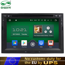 GreenYi RAM 2GB Android 6.0 7.1 Car DVD Player Fit Peugeot 3008 Citroen Berlingo 2010-2016 GPS Navigation TV 4G Radio
