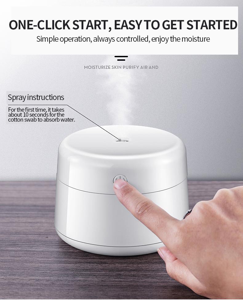 EXPED SMART USB humidifier mini portable ultrasonic mute bedroom desktop small car air humidification