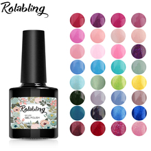 Buy Rolabling 10ml Professional Gel Polish Colorful UV Lamp Color Gel Primer DIY Nail Painting Gel Varnish 80 Color False Nail Glue for $1.40 in AliExpress store