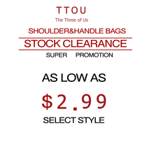 TTOU Stock Clearance Women  Bag  Super Promotions Messenger Bag as Low as $2.99
