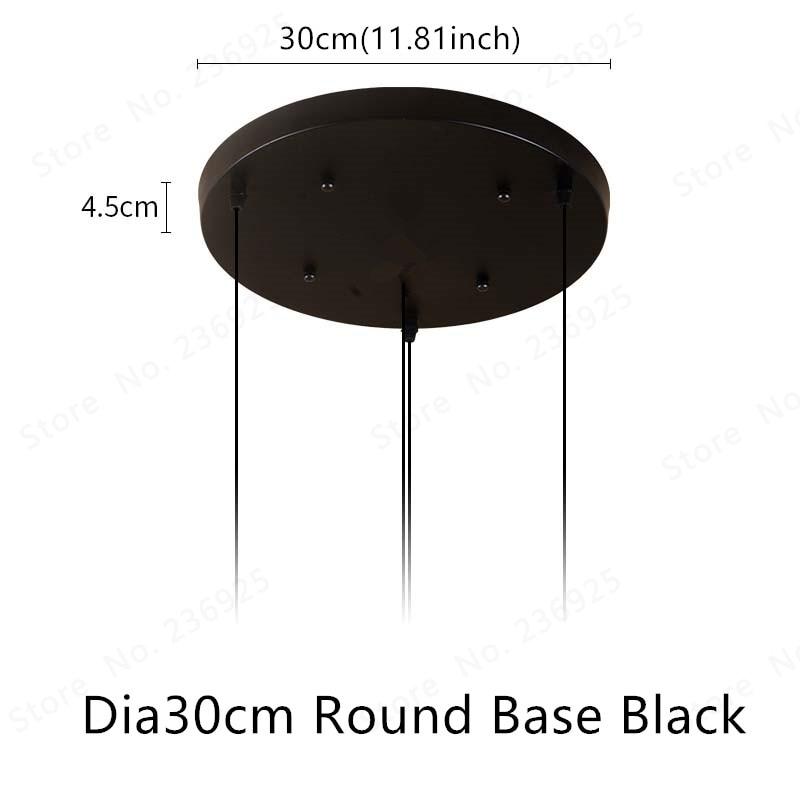 SKU_Dia30cm Round Base Black