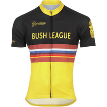 2017 BUSH LEAGUE Team Cycling Jersey breathable MTB Bike Jersey Short Sleeve Ropa Ciclismo Mens Summer BICYCLING Maillot