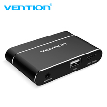 Vention 3 in 1 USB Audio Adapter USB to HDMI VGA + Audio Video Converter Digital AV Adapter For Mobile Phones For iPhone Android(China)