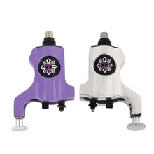2016 High Quality A200 Silver/Purple Rotary Tattoo Machine Bishop Style Professional Tattoo Machine For Liner & Shader