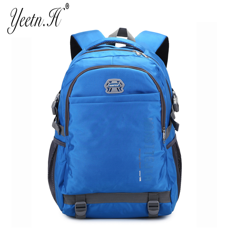 Yeetn-H 2017 High Quality Waterproof Nylon Womens Backpacks  School Bag  Casual Travel Men Daypack  Moutaineer Y1005<br><br>Aliexpress