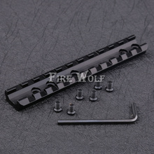 FIRE WOLF 20mm Tactical Sporting  Weaver Rail Scope Mount Screws Wrench Hunting Accessories Shotgun DIY 11 Slots Scope Mount