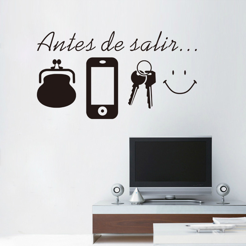 HTB1as HbwfH8KJjy1zcq6ATzpXaY - Spanish Quotes Wall Stickers For Living Room