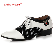Buy LaiteHebe New Men's Flats Oxfords Loafers shoes Men Mens Leather Men Buckle Shoe Formal White Men Dress Shoes Luxury Brand LH178 for $26.75 in AliExpress store