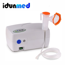 idunmed 203 Portable Mini Quiet Piston Compressor Asthma Nebulizer Machine With Health Care Children Adult Massage Relaxation