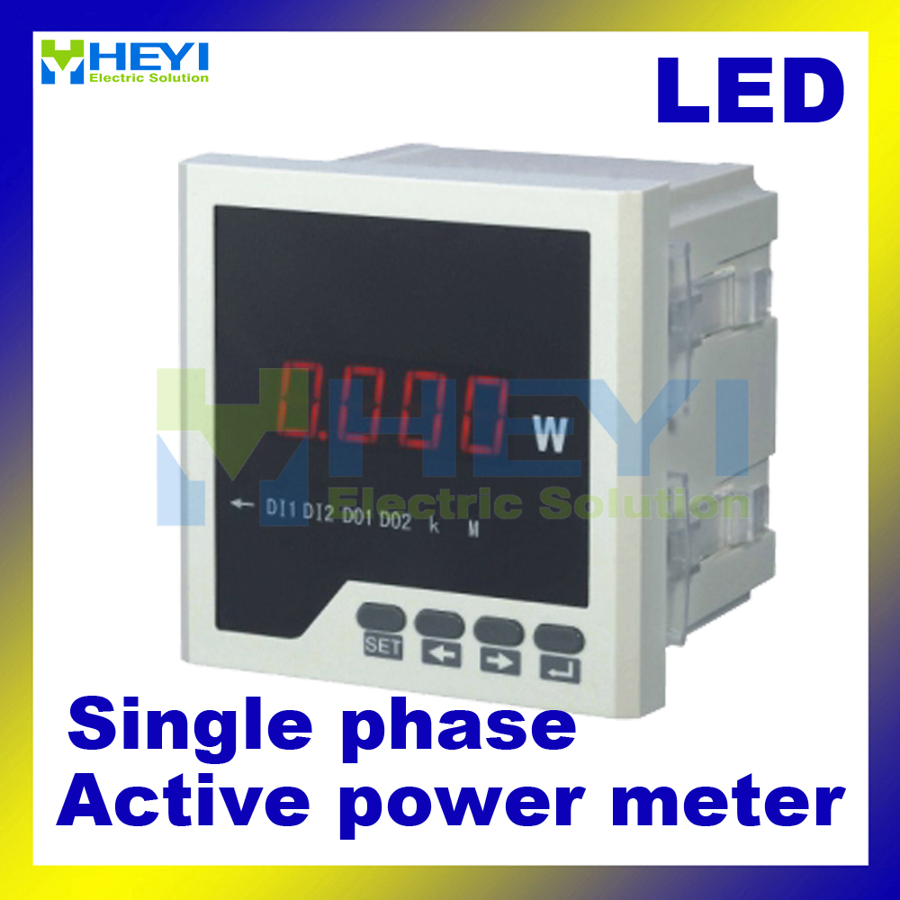 Single phase digital active power meter LED power meter<br><br>Aliexpress