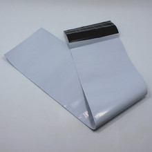Fast Shipping 500Pcs/Lot Wholesale White Express Bag Long Length Mailing Package Pouch for Shipping Pack Bags