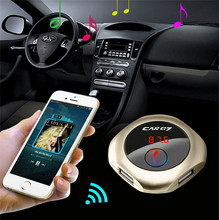 Wireless Bluetooth Handsfree FM Transmitter Car Kit MP3 Music Player Dual USB Car Charger Car-Styling For Honda Toyota Benz Ford(China)