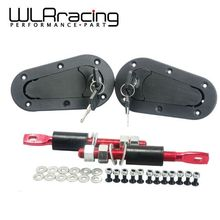 WLRING STORE- D1 Generation Bonnet Pins Plus Flush Kit Hood Pin Plastic With Lock WLR-BPK-D21(China)