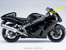 Hot Sales,For Suzuki GSX-R1300 Hayabusa 1999-2007 GSXR1300 99-07 GSXR 1300 Black ABS Motorcycle Fairing Kit (Injection molding)