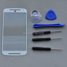 1pcs New Replacement LCD Front Touch Screen Outer Glass Lens For Motorola MOTO G2 With Tools Set + Fast Shipping