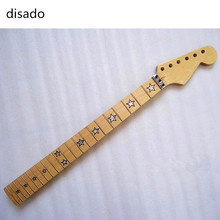 disado 22 Frets inlay star maple Electric Guitar Neck Guitar Parts musical instruments accessories can be customized