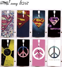 Custom Phone Cases For Sony Xperia S Lt26i SL Lt26ii Case Cover Luxury Superman America Captain Medal Plastic Phone Protective