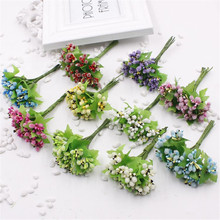 100 PCS / Lot Of Glass Artificial Flower Stamen Pistil For Wedding Cake Box Album Decors Strains Party Mulberry Thread / Wedding