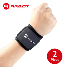 ARBOT Breathable Adjustable Wrist Support Wristband Men Women Running Wrestle Weight Lifting Sports Protection Wrist Bandage