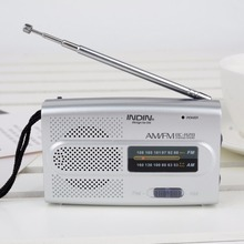 1pc Portable Mini AM/FM Telescopic Antenna Radio Professional World Receiver Pocket Jack Speaker Mayitr(China)