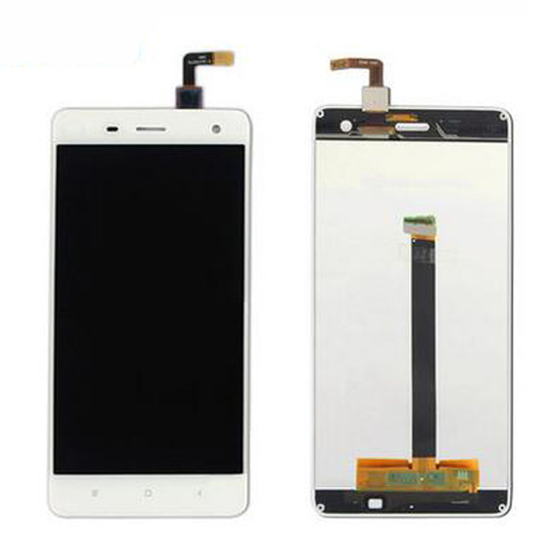 For Xiaomi 4 M4 Mi4 LCD Display + Digitizer Touch Screen Replacement For Xiaomi 4 Cell Phone Parts White + Tool<br><br>Aliexpress