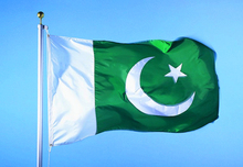 Pakistan  flag  Banner  Free shipping  90*150cm Hanging  National flag  Pakistan Home Decoration flag