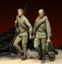 [tuskmodel] 1 35 scale resin model figures kits soviet Soldiers 1 Stalingrad(China)