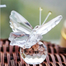 FREE SHIPPING+Choice Crystal Collection Precious Butterfly Souvenir Wedding Decorations Party Favors 100pcs/lot