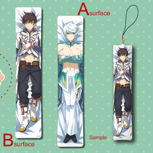 Tales of Zestiria The X Sorey & Mikleo Man BL Cool Anime Mini Dakimakura Keychain Pillow Hanging Ornament Phone Strap Gift