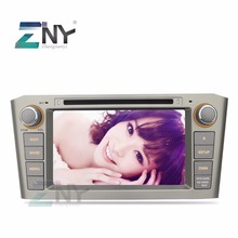 "ZNY 7"" HD 1024x600 Pure Android Car Stereo For Avensis T25 2003 2004 2005 2006 2007 2008 Auto Radio RDS DAB+ DVD GPS Navigation(Hong Kong)"