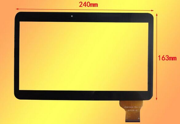 Free shipping 1pcs Digma Optima 1300T 4G 10.1 inch Capacitive Touch screen touch Panel Digitizer Sensor replacement for MID<br><br>Aliexpress