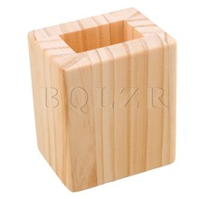 4x2.5CM Closed Hole Wood Furniture Lifter Bed Sofa Table Riser Add 5cm BQLZR(China)