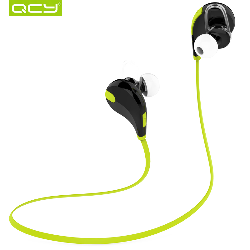 QCY QY7 sports headphones wireless bluetooth 4.1 stereo earphones headset with MIC call earbuds for iPhone 7 Android Phone(China (Mainland))