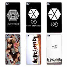 105GH EXO M EXO K Style Hard Transparent Cover for Huawei P7 P8 P8 P9 P10 Lite y5 ii Honor 4C 5C 6 7 8 & Nova(China)