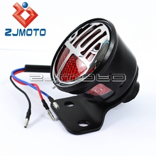 For Harley Tail Lamp LED Tailight Motorcycle Tail Light Miller STOP Light For Custom Cafe Racer Bobber Chopper(China)