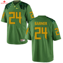 Nike 2017 Oregon Ducks Kiko Alonso 47 Yellow Can Customized Any Name Any Logo Limited Ice Hockey Jersey Kenjon Barner 24(China)