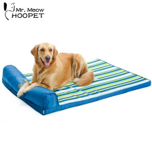 Hot Striped Bed Mats All Seasons Pillow Top Orthopedic Couch Style Pet Sofa Bed for Large Dogs and Cats