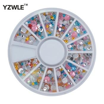 YZWLE 1 Wheel 3D Diy Design Nail Art Decoration Tool For Nail Salon (ZH-69)