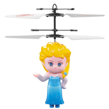 New Induction Suspension  Elsa /Anna  RC Flying Helicopter UFO Ball Ar.drone Original Box Package