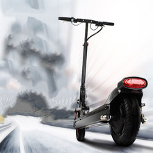 Electric scooter adult lithium battery mini electric vehicle two wheeled portable folding electric bicycle