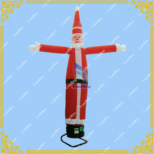 Inflatable Santa Claus Air Dancer for Advertisement, Desktop Inflatable Tube Man, Free Shipping with Blower Included(China)