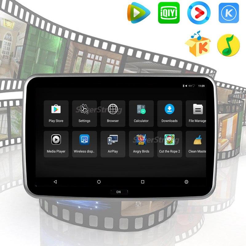mercedes benz rear headrest android player AUDI BMW LEXUS POSCHE CHEVROLET BMW EVO CIC Passenger android entertainment tablet player (5)