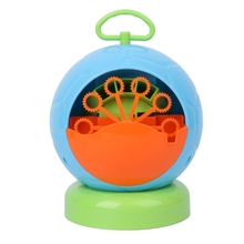 Automatic Bubble Machine Blower Maker Kids Children Indoor Outdoor Fun Parties Sports Toys New(China)