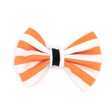 10pcs/lot 4'' Stripped Cotton Bow (Without Clips) Halloween Festival Mixing Color Hair Bow for Headband Hair Accessory News(China)