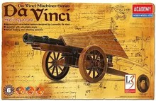 Academy 18142 Da Vinci Machines Series Classic original Spingarde Plastic Model Kit