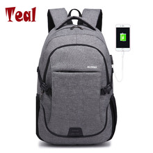 2017 fashion Canvas Men Travel Backpack Girls School Bags For Teenagers Boys Large Capacity Laptop Backpacks Usb Bag